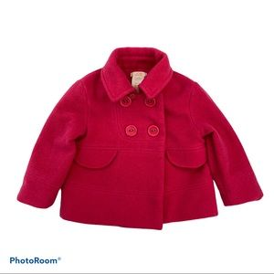 Joe Fresh Pink Pea Coat Baby Jacket